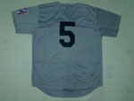 New York Yankees #5 Joe DiMaggio Throwback 1939 Road Gray Jersey