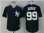 New York Yankees #99 Aaron Judge Navy Cool Base Jersey