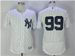 New York Yankees #99 Aaron Judge Home White Flex Base Jersey
