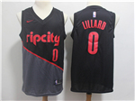 Portland Trail Blazers #0 Damian Lillard 2018/19 Black City Edition Swingman Jersey