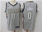 Cleveland Cavaliers #0 Kevin Love Gray City Edition Swingman Jersey