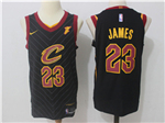 Cleveland Cavaliers #23 LeBron James 2017/18 Black Jersey