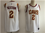 Cleveland Cavaliers #2 Collin Sexton White Swingman Jersey