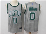 Boston Celtics #0 Jayson Tatum Gray City Edition Swingman Jersey