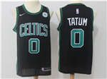 Boston Celtics #0 Jayson Tatum Black Swingman Jersey