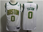 Boston Celtics #0 Jayson Tatum 2018/19 White City Edition Swingman Jersey