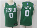 Boston Celtics #0 Jayson Tatum Youth Green Swingman Jersey