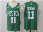 Boston Celtics #11 Kyrie Irving Green Authentic Jersey