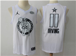 Boston Celtics #11 Kyrie Irving White 2018 All-Star Game Swingman Jersey