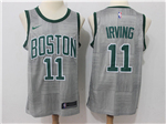 Boston Celtics #11 Kyrie Irving Gray City Edition Swingman Jersey