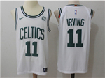 Boston Celtics #11 Kyrie Irving White Authentic Jersey