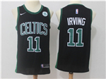 Boston Celtics #11 Kyrie Irving 2017/18 Black Swingman Jersey