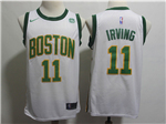 Boston Celtics #11 Kyrie Irving 2018/19 White City Edition Swingman Jersey