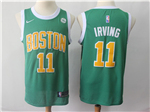 Boston Celtics #11 Kyrie Irving 2018/19 Green Earned Edition Swingman Jersey