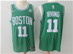 Boston Celtics #11 Kyrie Irving 2017/18 Green Swingman Jersey