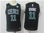 Boston Celtics #11 Kyrie Irving 2017/18 Youth Black Swingman Jersey