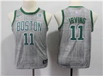 Boston Celtics #11 Kyrie Irving Youth Gray City Edition Swingman Jersey