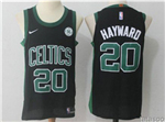 Boston Celtics #20 Gordon Hayward Black Authentic Jersey