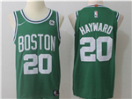 Boston Celtics #20 Gordon Hayward 2017/18 Green Jersey