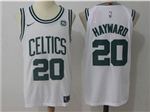 Boston Celtics #20 Gordon Hayward White Authentic Jersey