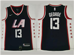 Los Angeles Clippers #13 Paul George Navy City Edition Swingman Jersey