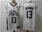 Los Angeles Clippers #13 Paul George 2019-20 White City Edition Swingman Jersey