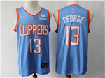 Los Angeles Clippers #13 Paul George Light Blue City Edition Swingman Jersey