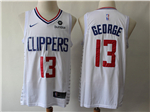 Los Angeles Clippers #13 Paul George White Swingman Jersey