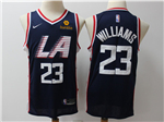 Los Angeles Clippers #23 Lou Williams 2018/19 Navy City Edition Swingman Jersey