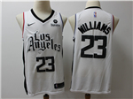 Los Angeles Clippers #23 Lou Williams 2019-20 White City Edition Swingman Jersey