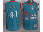 1996 NBA All-Star Game #41 Glen Rice Throwback Teal Jersey