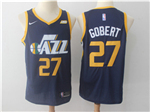 Utah Jazz #27 Rudy Gobert Navy Swingman Jersey