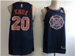New York Knicks #20 Kevin Knox 2018-19 Navy City Edition Swingman Jersey