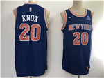 New York Knicks #20 Kevin Knox Blue Swingman Jersey