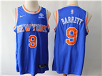 New York Knicks #9 R.J. Barrett Blue Swingman Jersey