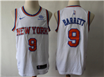 New York Knicks #9 R.J. Barrett White Swingman Jersey