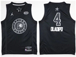 Indiana Pacers #4 Victor Oladipo Black 2018 All-Star Game Swingman Jersey