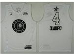 Indiana Pacers #4 Victor Oladipo White 2018 All-Star Game Swingman Jersey