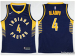 Indiana Pacers #4 Victor Oladipo 2017/18 Navy Swingman Jersey