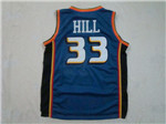 Detroit Pistons #33 Grant Hill 1998-99 Blue Jersey