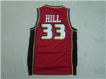 Detroit Pistons #33 Grant Hill 1998-99 Red Jersey