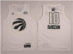 Toronto Raptors #10 DeMar DeRozan White 2018 All-Star Game Swingman Jersey