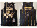 Toronto Raptors #1 Tracy McGrady 1998-99 Black Hardwood Classics Jersey