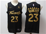 Toronto Raptors #23 Fred VanVleet 2019-20 Black City Edition Swingman Jersey