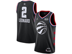 Toronto Raptors #2 Kawhi Leonard Black 2019 All-Star Game Swingman Jersey