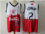 Toronto Raptors #2 Kawhi Leonard White/Red 2019 City DNA Swingman Jersey