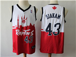 Toronto Raptors #43 Pascal Siakam White/Red 2019 City DNA Swingman Jersey