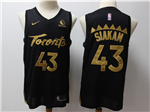 Toronto Raptors #43 Pascal Siakam 2019-20 Black City Edition Swingman Jersey