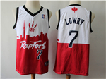 Toronto Raptors #7 Kyle Lowry White/Red 2019 City DNA Swingman Jersey