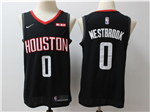 Houston Rockets #0 Russell Westbrook 2019/20 Black Swingman Jersey